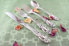 GRAND DUCHESS 4 Piece Setting Towle Sterling