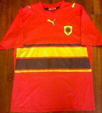 Rare Puma Angola Home 2006 World Cup National Soccer Jersey Men's M Camisola