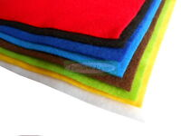 A4 sized SOFT craft felt - single sheet or assorted multi-colour pack