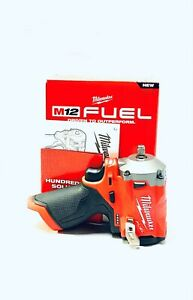 "Milwaukee 2554-20 M12 Fuel 3/8"" Stubby Impact Wrench (Tool-Only) NEW!"