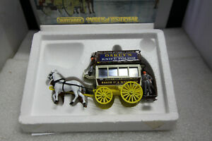 MATCHBOX YESTERYEAR 1886 LONDON OMNIBUS  HERITAGE HORSE DRAWN CARRIAGES YSH2