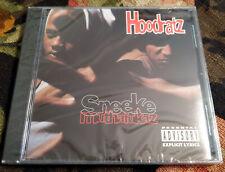 SEALED Rap/Hip-Hop CD HOODRATZ - Sneeke M*thaf*kaz EPIC 1993 M- Original