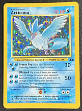 Articuno 2/62 -1999 Pokemon Cards Fossil Set Unlimited Holo PSA? BGS? SEE MORE!!