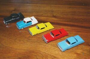5 - HO scale Plasticville? Cars Vehicles