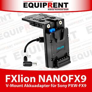 FXlion NANOFX9 mini V-Mount Akkuadapter 19.5V für Sony PXW-FX9 (EQR62)