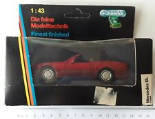SCHABAK MERCEDES SL COUPE' COD.1250 1:43 1/43 MODEL AUTO CAR METAL DIE CAST