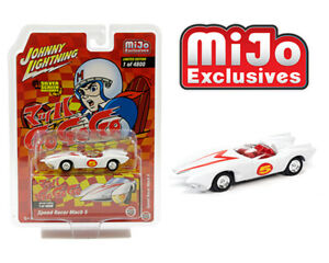 Johnny Lightning 1:64 MiJo Speed Racer Mach 5 Japan Nostalgia Version JLCP7349
