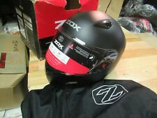 ZOX MOTORCYCLE MOTOCROSS ATV SNOWMOBILE SCOOTER HELMET - FULLFACE GALAXY LAR BLK