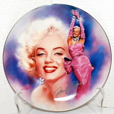 """Marilyn Monroe """"All that Glitters"""" 1st in Series Reflections of Marilyn Plate"""