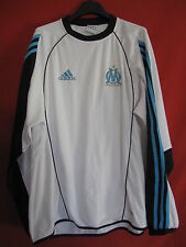 Sweat Adidas OM Olympique Marseille Vintage Manche longue Maillot - 180 / L