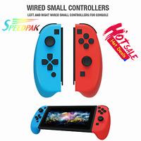 Left+Right Nintendo Switch Console w/ Neon Blue & Neon Red Joy Con