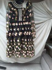 Orla kiely Embroidered Tulle Zora Short Dress Size10