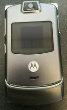 Motorola Razr V3 Sprint Gray Cell Phone Camera Fast Shipping Very Good Used
