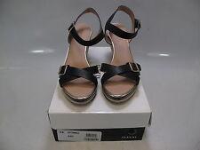 "ALFANI Womens PAYTONN Black/Natural 3"" Wedge Sandals Size US 10M (608381892230)"