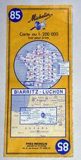 Carte MICHELIN N° 85 - Biarritz - Luchon 1970