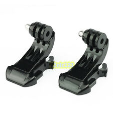 2 x J-Hook Buckle Vertical Surface Mount Quick Release for GoPro HD Hero 3 3+ 4