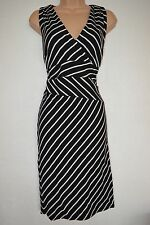 V-Neck Special Occasion Striped Sleeveless Dresses for Women