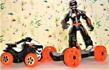 Action MAN DAK tedesco Motocicletta Set Adesivi Decalcomanie Die Cut