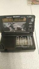 SONY ICF-SW12 RADIO REVEIL WORLD TIME 11 BAND RECEIVER