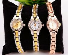 Wholesale 10pcs New Casual Crystal girls ladies women Rhinestones watches GX3