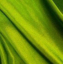 4m 53 w, QualityGreen Silk/Satin Dresses Bridal Blouse Crafts Sewing Decor Home