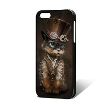 Steampunk Kitty Phone Case Fits iPhone 5/5s, 6, 7 & more, Kat Artwork