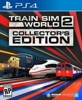Train SIM World 2: Collector's Edition for PlayStation 4 [New Video Game] PS 4