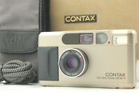 [EXC+++++ in Box] Contax T2 35mm Silver Point & Shoot Film Camera From JAPAN