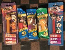 New listing Pez Candy Dispensers Lot Of 5: 2 Garfield's, 2 Mickey Mouse & 1 Tasmanian Devil