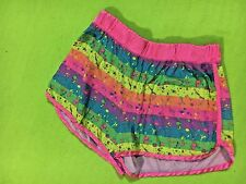 Justice Girl's Pink & Blue Pajama Shorts.  Size 16/18    FREE SHIPPING