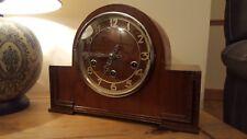 """ART DECO """"GUFA"""" Carillon di Westminster Orologio da mensola per tedesco c1935"""