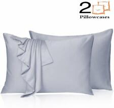 Leccod 2 Pack Silky Satin Pillowcase for Hair and Skin Cool Super Soft and Luxur