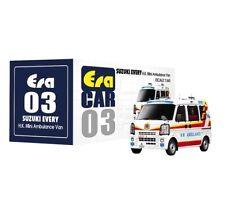 ERA Car 1:64 Scale SUZUKI EVERY Hong Kong Mini Ambulance Van 1st Special Edition
