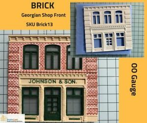 Brick GEORGIAN Front Mould - Building Front - BRICK 13 Model Railway OO Gauge