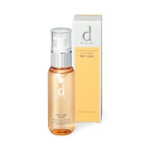 Made in JAPAN Shiseido d program Acne care lotion W 125ml - Tracking SAL