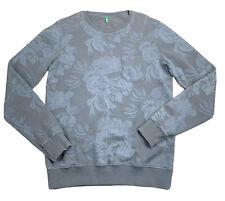 Vintage United Colors of Benetton Floral Sweatshirt - Large - 90s Crew Neck