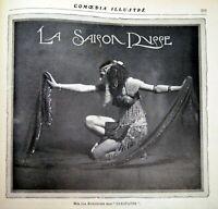 Item & Photos Ballets Russes Comoedia Shown N° 12 1909 Nijinsky Pavlova