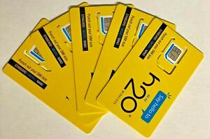 H2O 3-in-1 SIM with Activation + $50 Plan