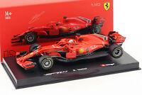 Sebastian Vettel Ferrari SF71H #5 formule 1 2018 avec conducteur figure 1:43 Bbu