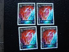 LUXEMBOURG - timbre yvert et tellier n° 1401 x4 obl (A30) stamp (A)