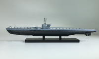 New 1:350 Scale WWII German U26 U-boat 3D Exquisite Alloy Static Display Model