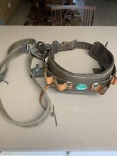 Buckingham Lineman's Pole/Tree Climbing Belt with Strap Size 28