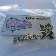 2012 London Summer Olympic Ticketmaster Pink Pin