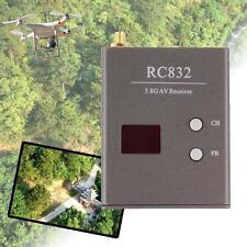 FPV 5.8GHz 32 voies Récepteur RC832 Avec sortie AV RP-SMA et C?bles d'énergie DC