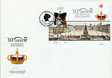 Portugal 2019 FDC Queen Mary II 1v M/S Cover Historical Figures Royalty Stamps