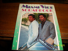 Miami Vice Scrapbook by Sharon Publications (1986, Paperback)