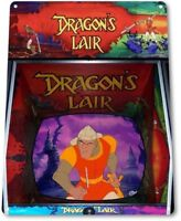 Dragon's Lair Classic Arcade Marquee Game Room Cave Wall Decor Metal Tin Sign