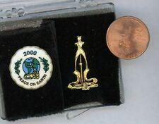 Miniature Dollhouse Chrysnbon 2000 Christmas Plate