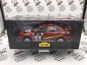 "Die Cast "" Mitsubishi Lancer Evo V - 1998 T.Makinen "" Scale 1/18 Altaya"
