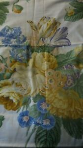 ROBERT ALLEN from 1988 McMILLEN COLLECTION Floral Pattern Fabric 2.8m